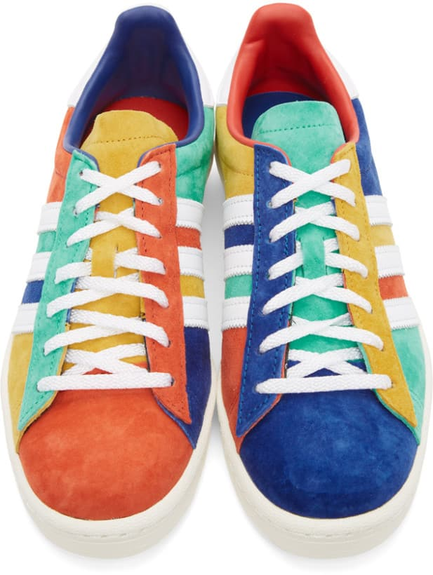 Colorful Adidas Campus 80 front