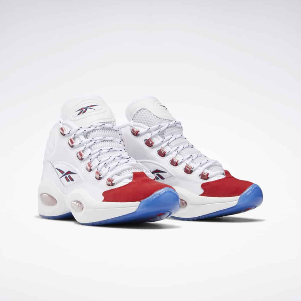 Reebok Question Mid OG Suede Red Toe