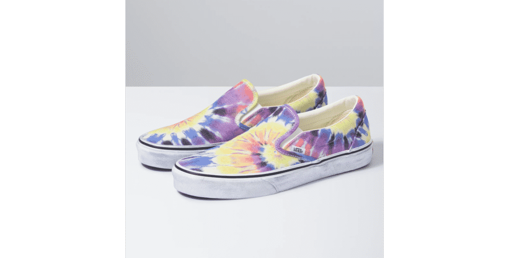 Tie Dye Kicks for Your Inner Hippie