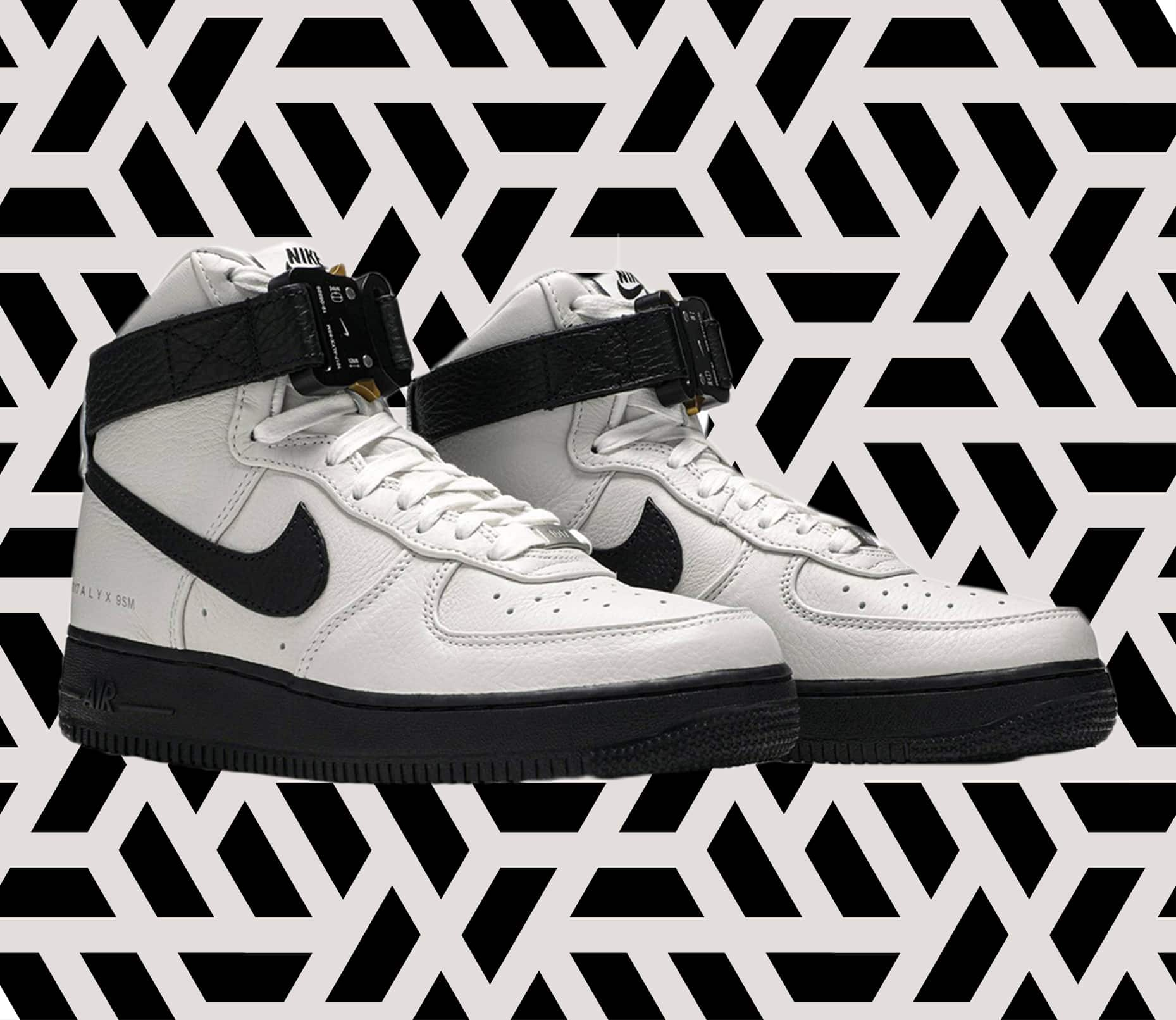 ALYX Air Force 1 White and Black