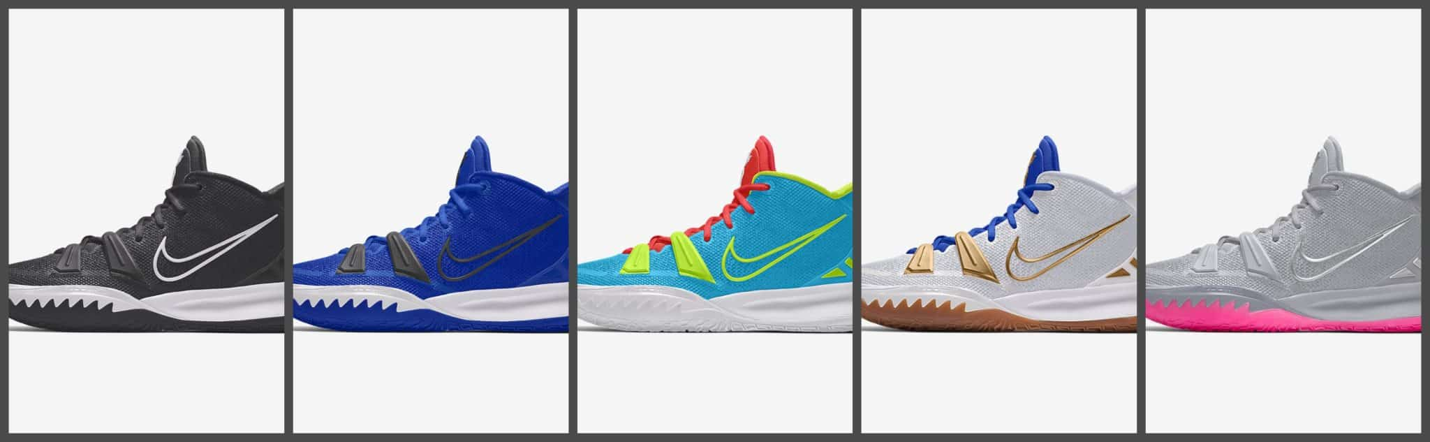 "Kyrie 7 ""by you"" collage"