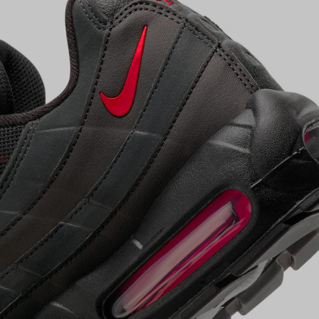 "The New Nike Air Max 95 ""Bred"" Is Coming Soon With Reflective Exteriors"