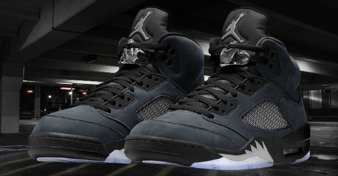 "An In-depth Look at the Air Jordan 5 ""Anthracite"" Releasing in 2021"