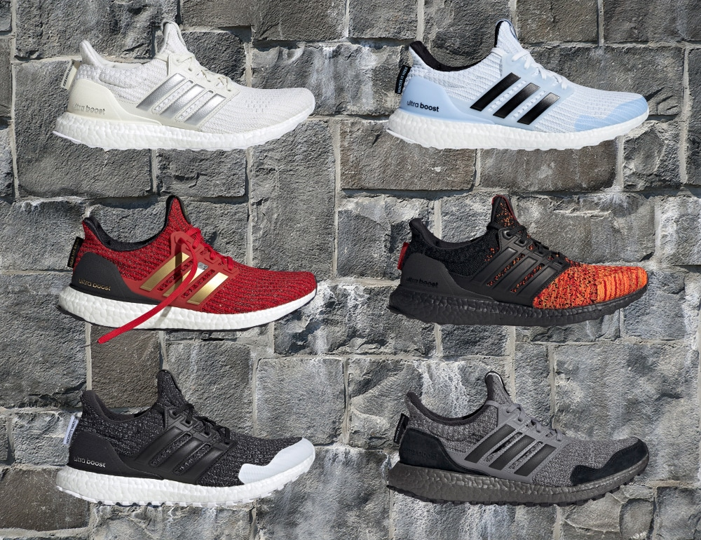 A Look Back At The Game of Thrones Ultra Boost: A Stylish Tribute to a Groundbreaking Series
