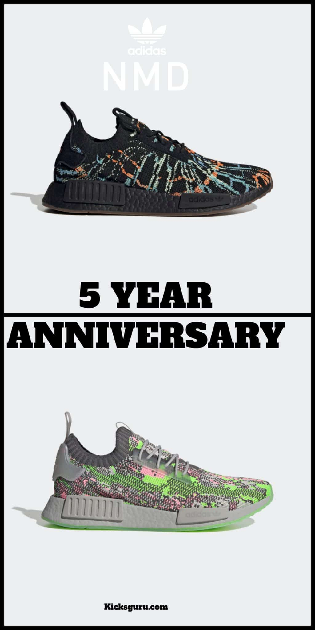 Adidas NMD turns 5 years old-2021
