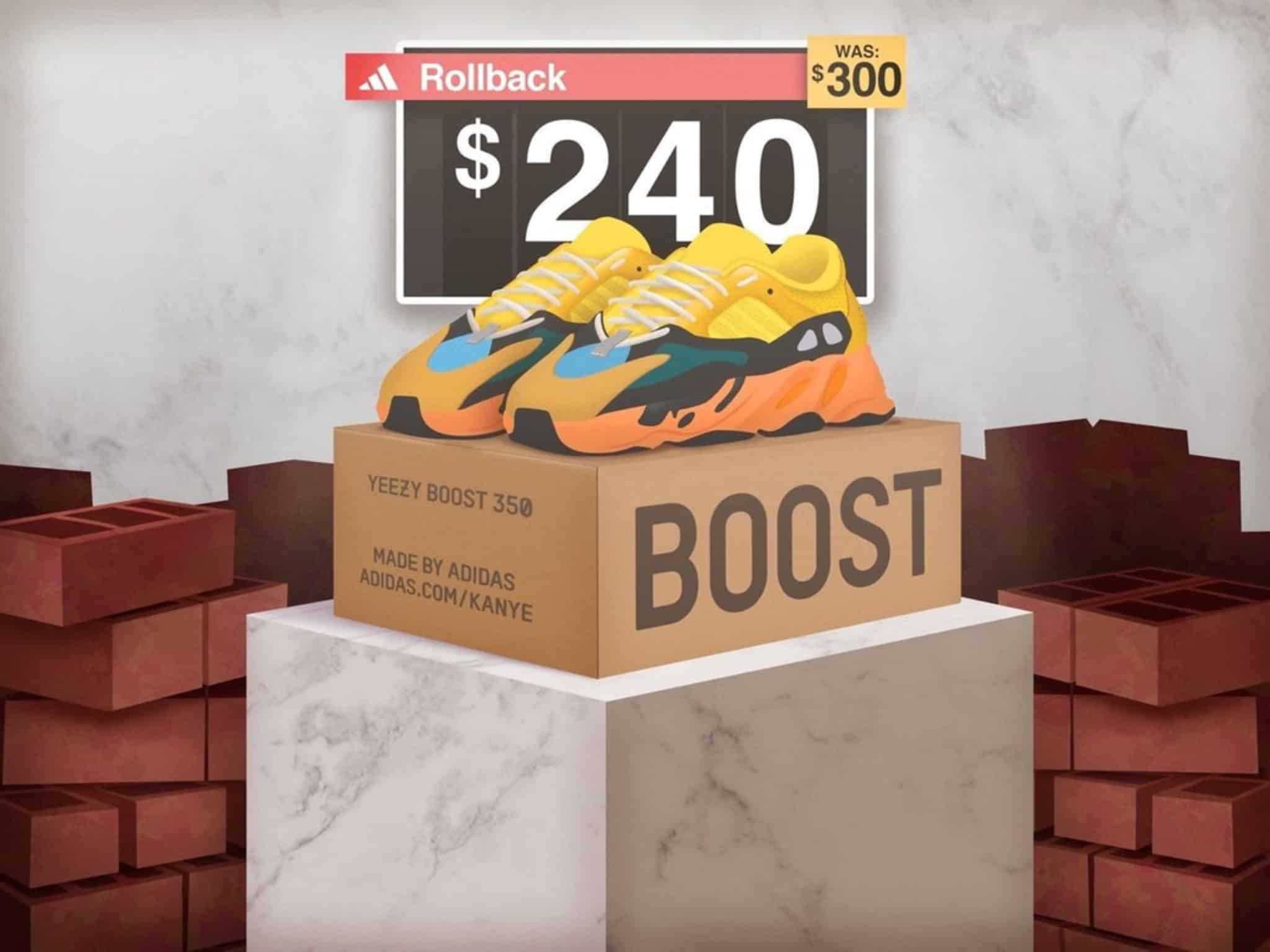 Yeezy 700 sun price change