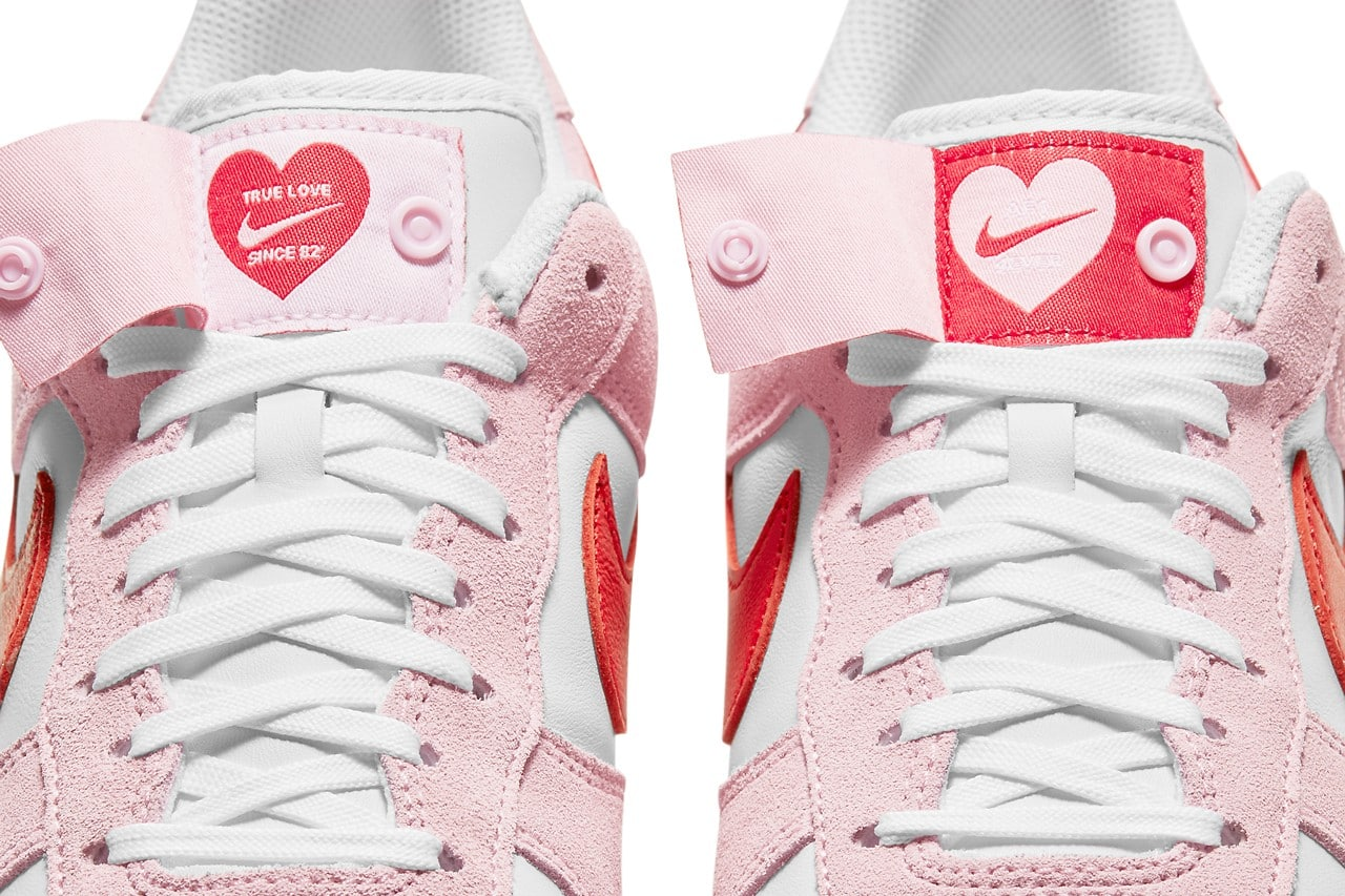Valentines Day Air Force 1 Hearts