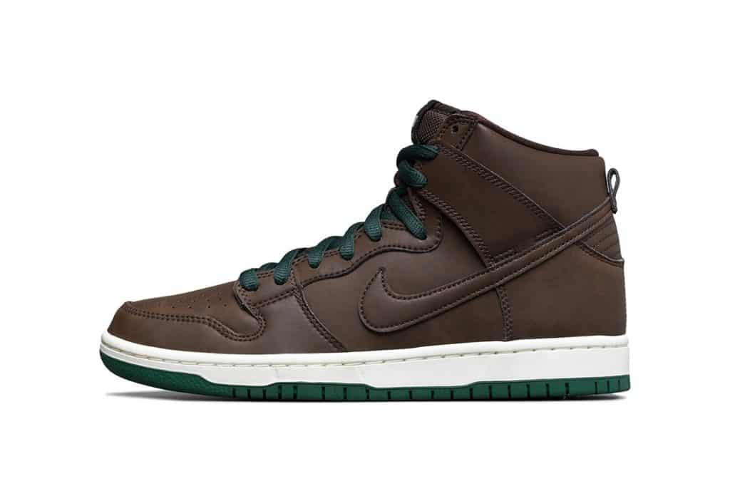 "Vegan Leather SB Dunk High ""Baroque Brown"""