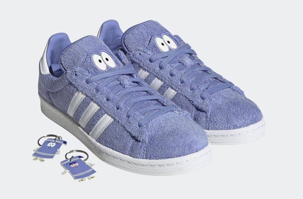 "South Park x Adidas Campus 80 ""Towelie"" Wants to Get High"